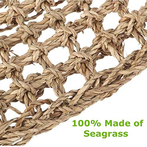 Aiicioo-Reptile-Lounger-Lizard-Hammock-Bearded-Dragon-Hammock-100-Natural-Seagrass-Fibers-Ideal-for-Anoles-Bearded-Dragons-Geckos-Iguanas-Hermit-Crabs-Triangular-0-1