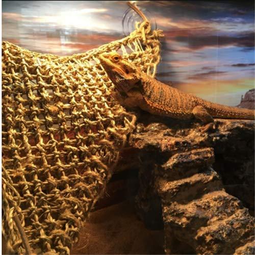 Aiicioo-Reptile-Lounger-Lizard-Hammock-Bearded-Dragon-Hammock-100-Natural-Seagrass-Fibers-Ideal-for-Anoles-Bearded-Dragons-Geckos-Iguanas-Hermit-Crabs-Triangular-0-2