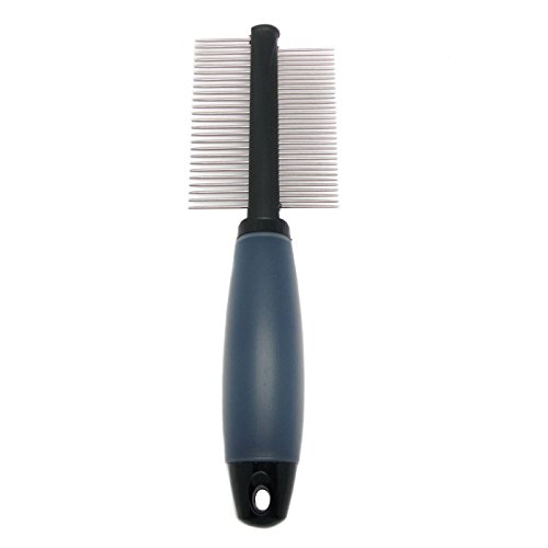Alfie-Pet-by-Petoga-Couture-Devin-8-Inch-Double-Sided-Comb-with-Memory-Gel-Grip-Handle-0-0