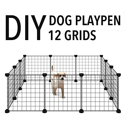 Allisandro-Pet-Rabbit-Bunny-Playpen-Small-Animal-Cage-Indoor-Portable-Yard-Fence-Guinea-Pigs-Puppy-Kennel-Crate-Fence-Tent-0-0