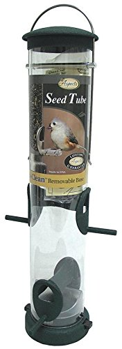 Aspects-424-Medium-Spruce-Quick-Clean-Tube-Seed-Feeder-0