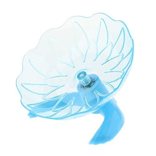 B-Blesiya-Silent-Design-UFO-Shape-Hamster-Mouse-Plastic-Running-Disc-Flying-Saucer-Wheel-Blue-0-0