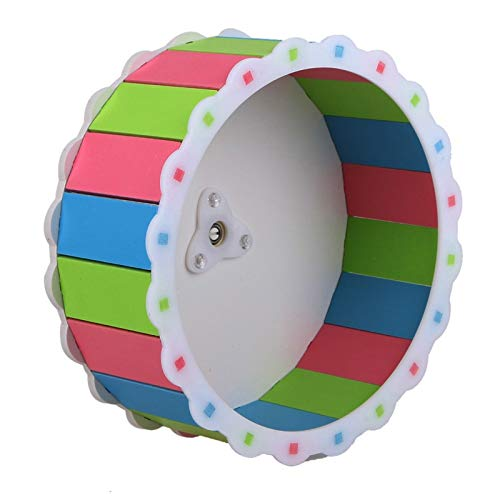 Best-Quality-Cages-Accessories-Colorful-Hamster-Mouse-Rat-Mice-Exercise-Running-Spinner-Wheel-Pet-Sports-Wheel-Roller-Toy-Dia-19cm-by-Viet-SC-1-PCs-0-0