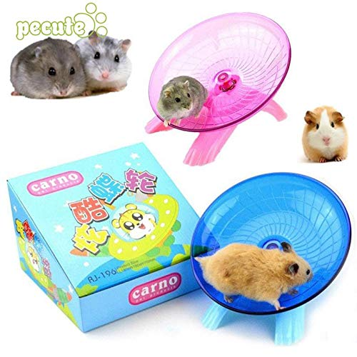 Best-Quality-Cages-Accessories-Hamster-Exercise-Flying-Saucer-Wheel-Mice-Gerbil-Fitness-Gyro-Running-Game-Toy-by-Viet-SC-1-PCs-0-1
