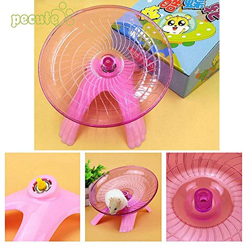 Best-Quality-Cages-Accessories-Hamster-Exercise-Flying-Saucer-Wheel-Mice-Gerbil-Fitness-Gyro-Running-Game-Toy-by-Viet-SC-1-PCs-0