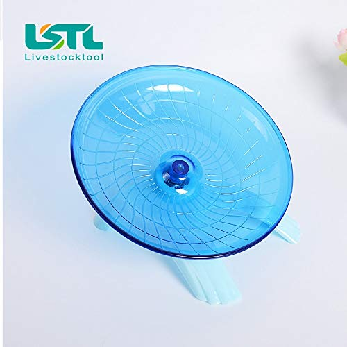 Best-Quality-Cages-Accessories-Pet-Hamster-Mouse-Running-Disc-Flying-Saucer-18cm-Diameter-Exercise-Sport-Jogging-Wheel-Hamster-Accessorie-Pet-Tools-by-VietFA-1-PCs-0-1