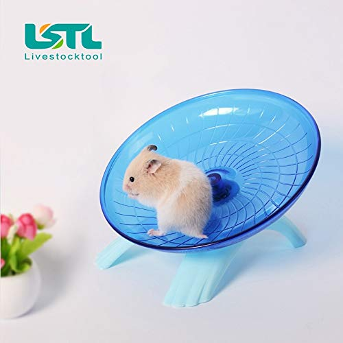 Best-Quality-Cages-Accessories-Pet-Hamster-Mouse-Running-Disc-Flying-Saucer-18cm-Diameter-Exercise-Sport-Jogging-Wheel-Hamster-Accessorie-Pet-Tools-by-VietFA-1-PCs-0