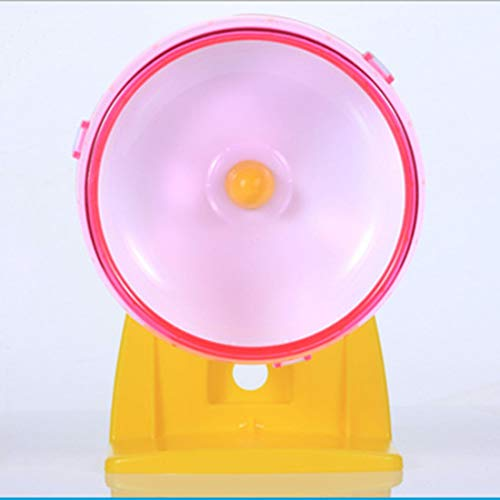 Best-Quality-Cages-Petforu-14CM-Large-Size-Hamster-Mouse-Running-Wheel-Pet-Exercise-Sport-Ball-with-Holder-by-MamonLord-1-PCs-0