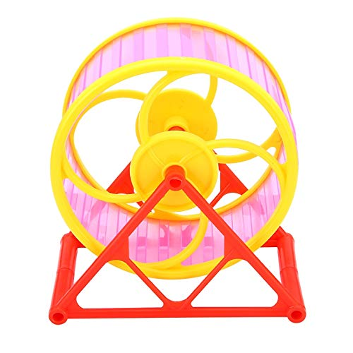 Best-Quality-Cages-Silent-Hamster-Running-Wheel-Plastic-Mouse-Rat-Pet-Running-Spinner-Jogging-Roller-Exercise-Toy-RedBlueGreen-Color-Randomly-by-Viet-SC-1-PCs-0-1