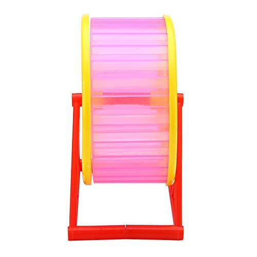 Best-Quality-Cages-Silent-Hamster-Running-Wheel-Plastic-Mouse-Rat-Pet-Running-Spinner-Jogging-Roller-Exercise-Toy-RedBlueGreen-Color-Randomly-by-Viet-SC-1-PCs-0-2