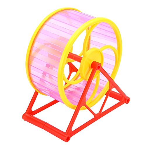 Best-Quality-Cages-Silent-Hamster-Running-Wheel-Plastic-Mouse-Rat-Pet-Running-Spinner-Jogging-Roller-Exercise-Toy-RedBlueGreen-Color-Randomly-by-Viet-SC-1-PCs-0