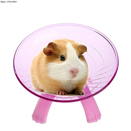 Best-Quality-Exercise-Wheels-Hamster-Running-Disc-Flying-Saucer-Exercise-Wheel-for-Pets-Mice-Hamsters-Gerbil-Cage-Toy-by-FAWareHouse-1-PCs-0-0