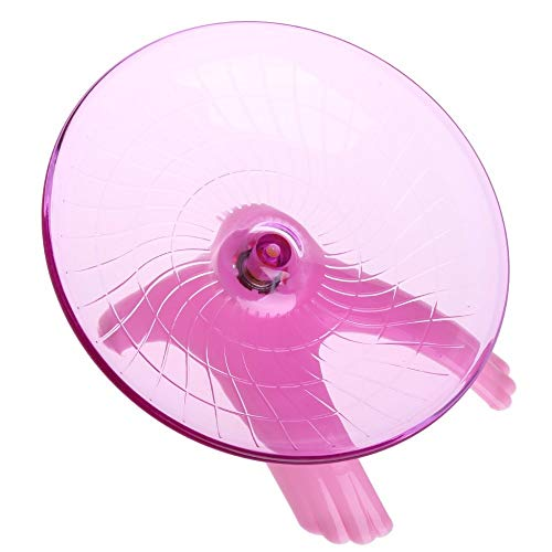 Best-Quality-Exercise-Wheels-New-Running-Disc-Flying-Saucer-Exercise-Wheel-for-s-Mice-Hamsters-Gerbil-Cage-Toy-by-FAWareHouse-1-PCs-0-2