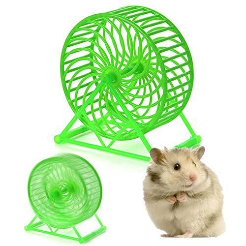 Best-Quality-Exercise-Wheels-New-Style-Small-Pet-Toy-Hamster-Toys-Small-Animals-Exercise-Wheels-Hamster-Cage-Accessories-Toys-Gerbil-Wheel-Practice-Jogging-by-FAWareHouse-1-PCs-0