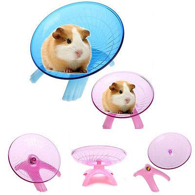 Best-Quality-Exercise-Wheels-Running-Disc-Flying-Saucer-Exercise-Wheel-for-Mice-Dwarf-Hamsters-Small-Pets-by-FAWareHouse-1-PCs-0