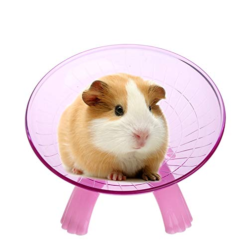 Best-Quality-Exercise-Wheels-Running-Disc-Flying-Saucer-Exercise-Wheel-for-Mice-Hamsters-Gerbil-Cage-Toy-by-FAWareHouse-1-PCs-0-0