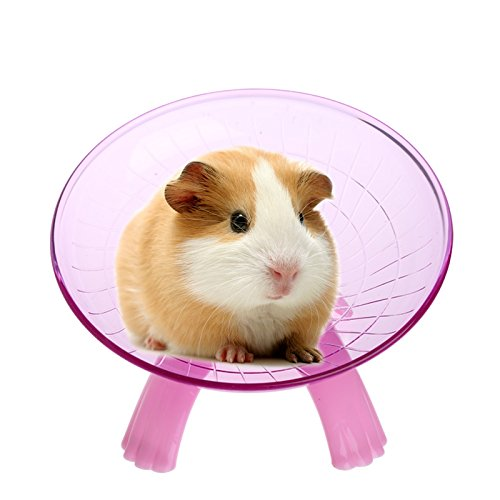 Best-Quality-Exercise-Wheels-Running-Disc-Flying-Saucer-Exercise-Wheel-for-s-Mice-Hamsters-Gerbil-Cage-Toy-by-FAWareHouse-1-PCs-0