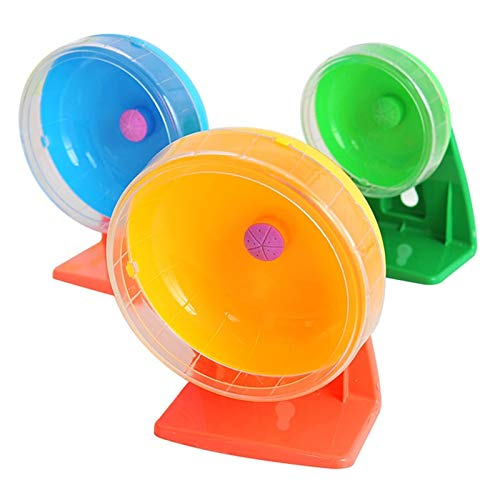 Best-Quality-Exercise-Wheels-Small-Pet-Jogging-Hamster-Mouse-Mice-Small-Exercise-Toy-Running-Spinner-Sports-Wheel-Pets-Guinea-Pig-Supplies-Random-Color-by-FAWareHouse-1-PCs-0-1