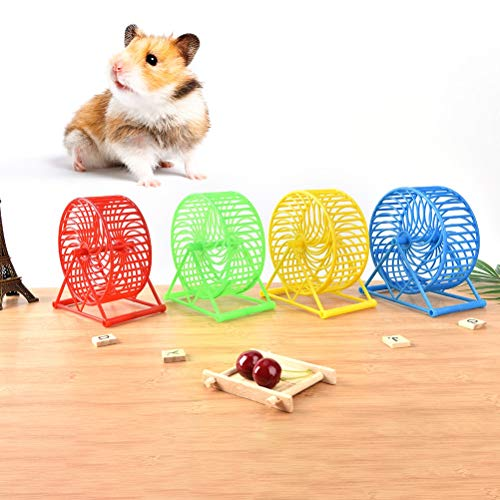 Best-Quality-Home-1PC-Plastic-Scroll-Silent-Hamster-Mouse-Rat-Windmill-Running-Wheel-Exercise-Wheels-Gerbil-Pet-Toy-by-VietFA-1-PCs-0-0