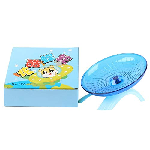 Best-Quality-Toys-Hamster-Mouse-Plastic-Running-Disc-Flying-Saucer-Pet-Exercise-Sport-Jogging-Wheel-2018-by-Viet-NA-1-PCs-0-1
