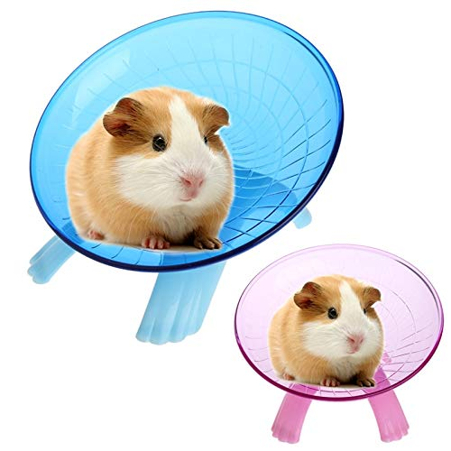 Best-Quality-Toys-New-Hamster-Mouse-Running-Disc-Flying-Saucer-Exercise-Wheel-Small-Animals-for-s-Mice-Hamsters-Gerbil-Cage-Accessories-Toy-by-VietFA-1-PCs-0