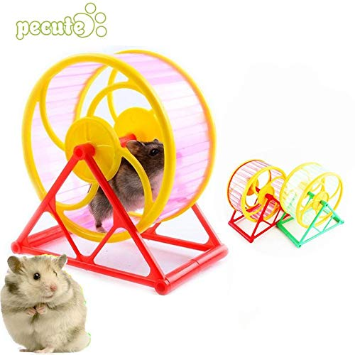 Best-Quality-Toys-Wheel-Toy-Play-with-Holder-Pet-Rodent-Hamster-Exercise-Running-Spinner-by-VietRattan-1-PCs-0