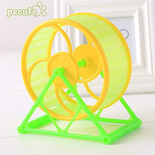 Best-Quality-Toys-Wheel-Toy-Play-with-Holder-Plastic-Pet-Rodent-Hamster-Exercise-Spinner-by-MamonLord-1-PCs-0
