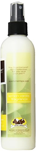 Best-Shot-Scentament-Spa-Pet-Body-Splash-8-Ounce-LemonVanilla-0-1