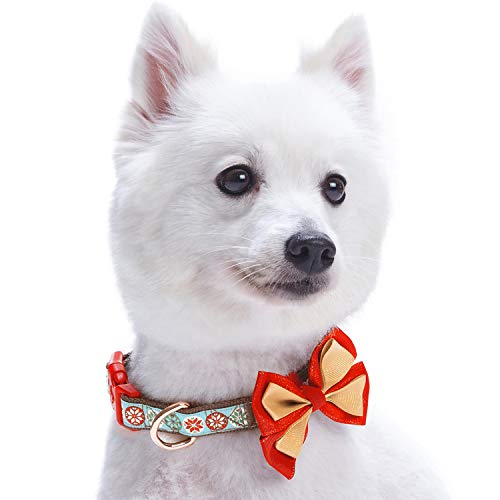Blueberry-Pet-Christmas-Dog-Collars-Regular-Collars-or-Personalized-Collars-with-Metallic-Thread-0-1