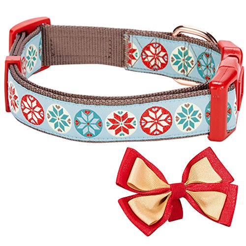 Blueberry-Pet-Christmas-Dog-Collars-Regular-Collars-or-Personalized-Collars-with-Metallic-Thread-0-2