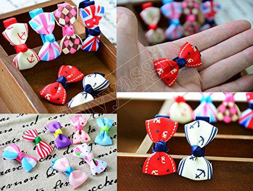 Blyyasgimulti-Color-Puppy-Dog-Cute-Hair-Bows-Hair-Clips-for-Pet-Grooming-0-0