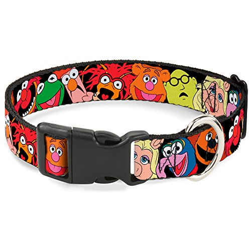 Buckle-Down-Breakaway-Cat-Collar-Muppets-Faces-Black-0