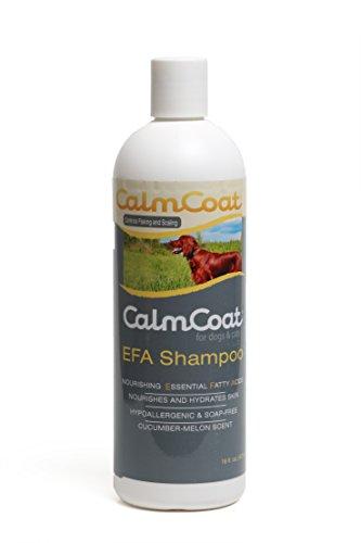 Calm-Coat-EFA-Shampoo-for-Dogs-Cats-Horses-Essential-Fatty-Acids-Nourish-Moisturize-Hypoallergenic-Soap-Free-pH-Balanced-Safe-with-Flea-Tick-Topicals-16-oz-0
