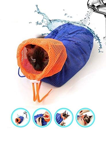CatYou-Cat-Grooming-Bag-Puppy-Dog-Cleaning-Polyester-Soft-Mesh-Scratch-Biting-Resisted-for-Bathing-Injecting-Examining-Nail-Trimming-0