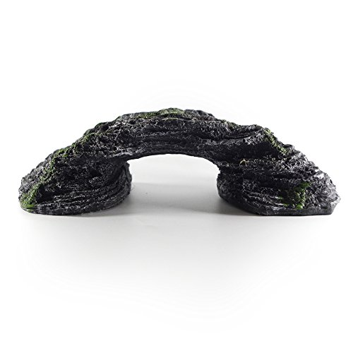 DANXQ-Arch-Bridge-Turtle-Reptile-Basking-Platform-Ramp-Terraces-Aquarium-Cave-Hide-Resin-Craft-Made-0-2