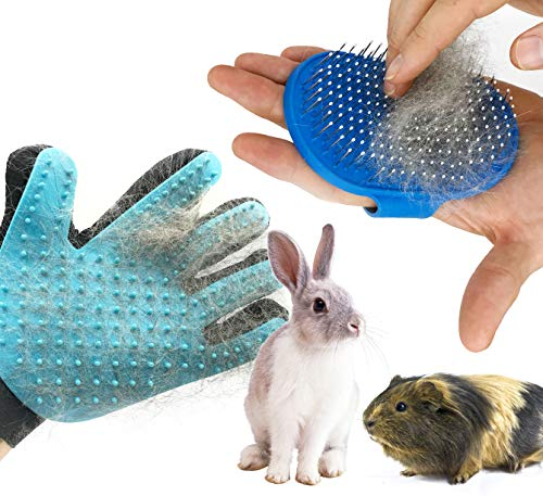 Dasksha-Rabbit-Grooming-Kit-with-Rabbit-Grooming-Brush-Rabbit-Hair-Brush-and-Rabbit-Hair-Remover-Bunny-Guinea-Pig-0