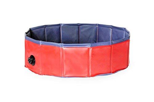 Dog-Bath-Tub-Splash-Swim-Pool-Large-62-Round-Foldable-Dog-Pool-0-2