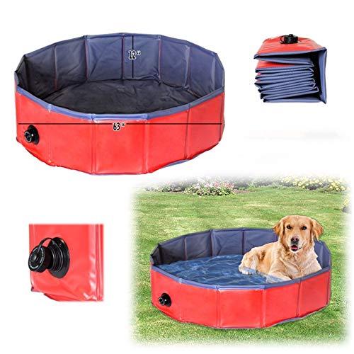 Dog-Bath-Tub-Splash-Swim-Pool-Large-62-Round-Foldable-Dog-Pool-0