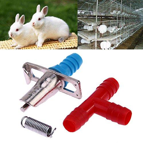 Domybest-20pcs-Rabbit-Nipple-Water-Drinker-Waterer-Poultry-Feeder-Tools-0