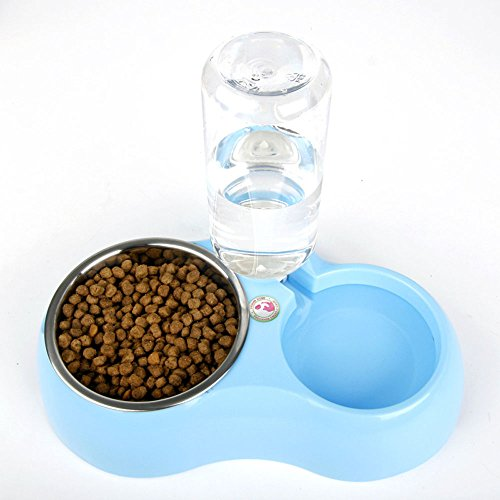 Efanr-Pet-Automatic-Drinking-Water-Feeding-Double-Bowls-Stainless-Steel-Dog-Bowls-Cat-Bowl-Water-Basin-Pet-Rice-Bowls-Dog-Plate-for-Small-and-Medium-Pet-0-2