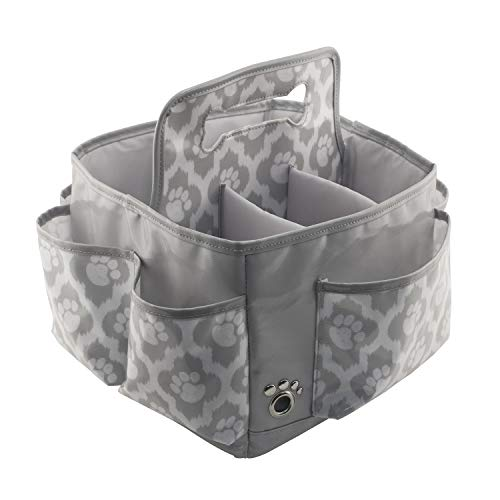 Everything-Mary-Pet-Essentials-Grooming-Caddy-Deluxe-Premium-Pet-Organizer-Storage-Tote-Bag-Bin-for-Dog-Wash-Shampoo-Accessories-0-1