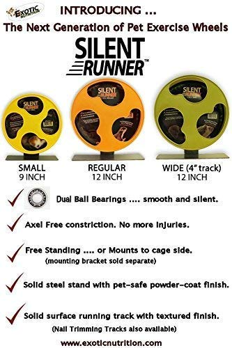 Exotic-Nutrition-Silent-Runner-12-Regular-Wheel-Sandy-Track-Cage-Attachment-0-2