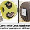 Exotic-Nutrition-Silent-Runner-12-Wide-Exercise-Wheel-Cage-Attachment-0-1