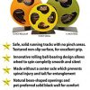 Exotic-Nutrition-Silent-Runner-9-Sandy-Track-Cage-Attachment-Pet-Exercise-Wheel-Package-Set-0-2