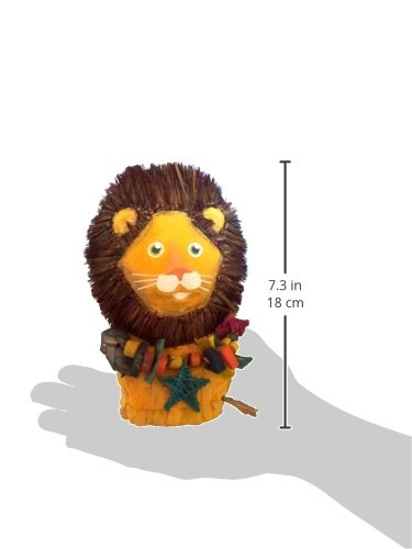 Fetch-It-Pets-Louie-the-Lion-8-Polly-Wanna-Pinata-Bird-Toy-0-0