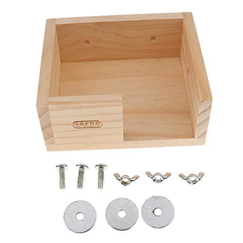 FidgetFidget-Wooden-Hamster-Gerbil-Mouse-House-Platform-Bird-Stand-Mounted-0-0