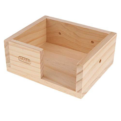 FidgetFidget-Wooden-Hamster-Gerbil-Mouse-House-Platform-Bird-Stand-Mounted-0-1