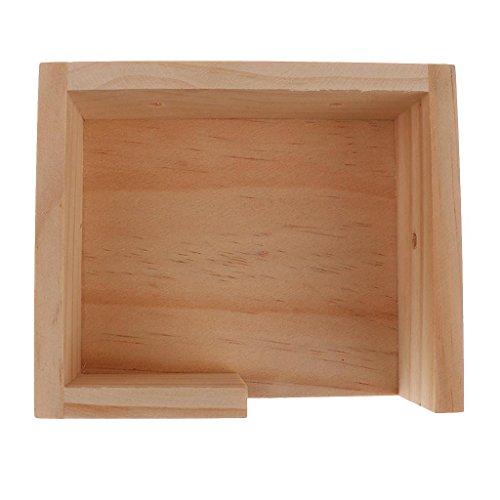 FidgetFidget-Wooden-Hamster-Gerbil-Mouse-House-Platform-Bird-Stand-Mounted-0