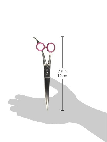 Geib-Gator-Bent-Shank-Stainless-Steel-Curved-Pet-Grooming-Shears-8-12-Inch-0-0
