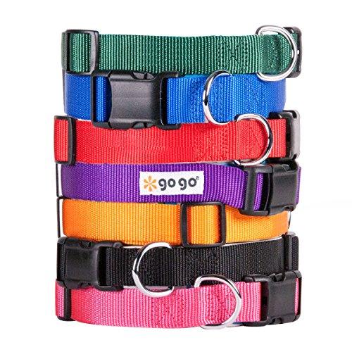 GoGo-Comfy-Nylon-38-Inch-Adjustable-Pet-Collar-X-Small-0